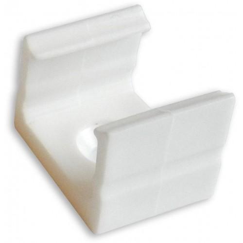 Montážní úchyt plastový pro profil LUMINES A, bílý