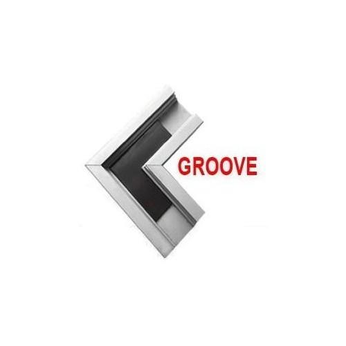 Rohová spojka profil GROOVE