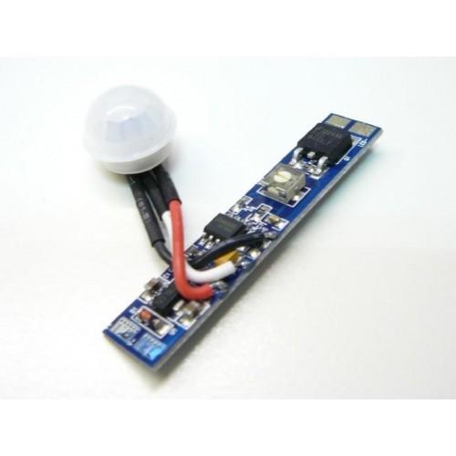 Spínač s pohybovým čidlem pro LED pásky, montáž do ALU profilu
