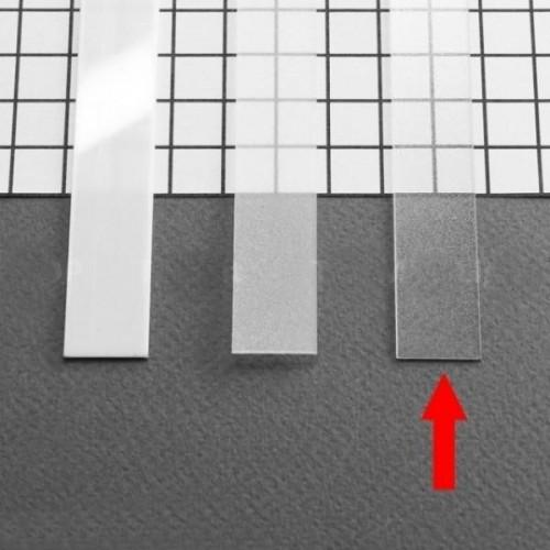 Transparentní difuzor pro profily Groove,Corner,Surface,Trio,Oval 2m