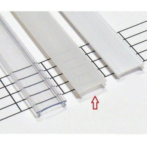 Matný difuzor KLIK pro profily LUMINES A/B/C/D/Y/Z 3m