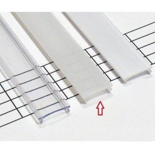 Matný difuzor KLIK pro profily LUMINES A/B/C/D/Y/Z 1m