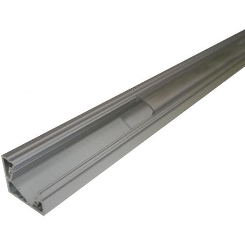 Hliníkový profil MiniLUX  30/60° 2m pro LED pásky, hliník