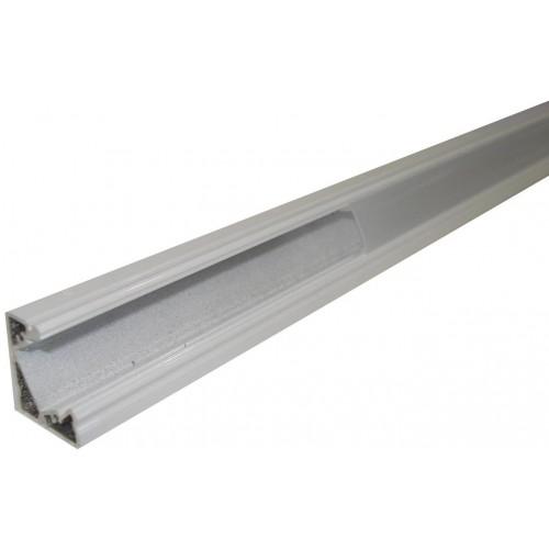 Hliníkový profil MiniLUX  30/60° 2m pro LED pásky, bílý