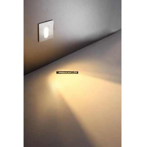 Podhledové bodové svítidlo nástěnné do schodišť Arvada LED 1W CREE White 120-72 CreeLamp bílé