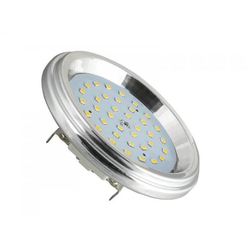 LED žárovka 7W 120xSMD2835 AR111 12V 700lm TEPLÁ BÍLÁ