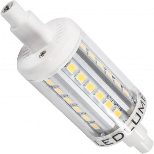 LED 4W - R7s náhrada malé halogenové trubice  36xSMD2835 78mm  CCD TEPLÁ
