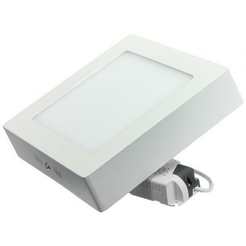 LED panel přisazený 18W 220x220mm CCD STUDENÁ BÍLÁ