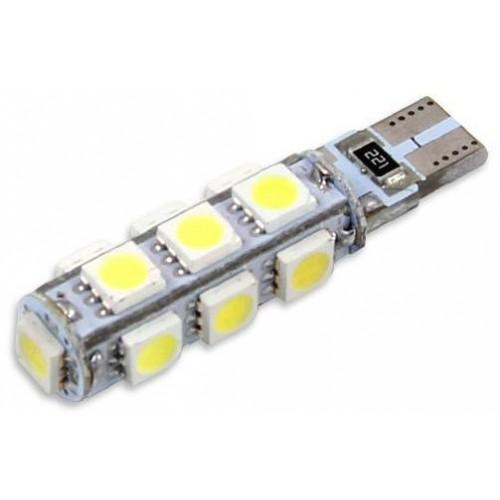LED auto žárovka LED T10 W5W 13 SMD 5050