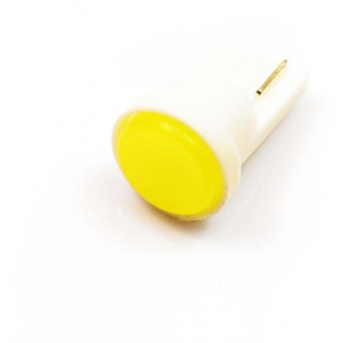 LED auto žárovka LED W5W T10 1W COB LED, bílá