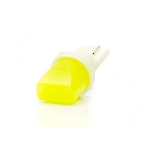 LED auto žárovka LED W5W T10 1W COB LED kužel, bílá