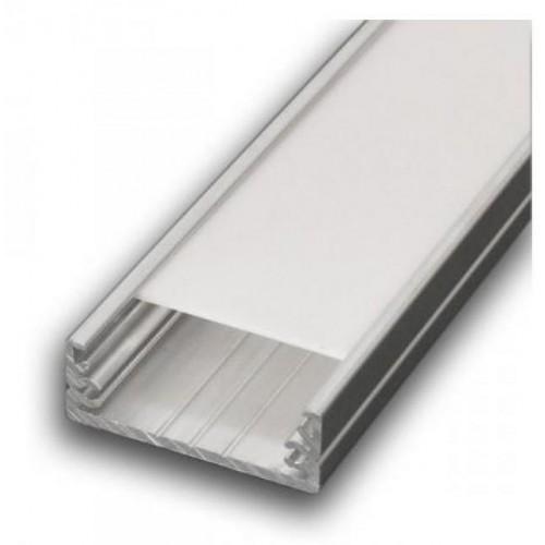 Hliníkový profil WIDE 1m pro LED pásky