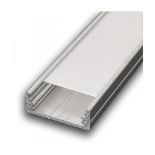 Hliníkový profil WIDE 2m pro LED pásky
