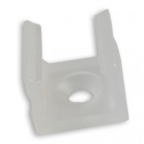 Montážní úchyt plastový pro profil LUMINES X, transparentní