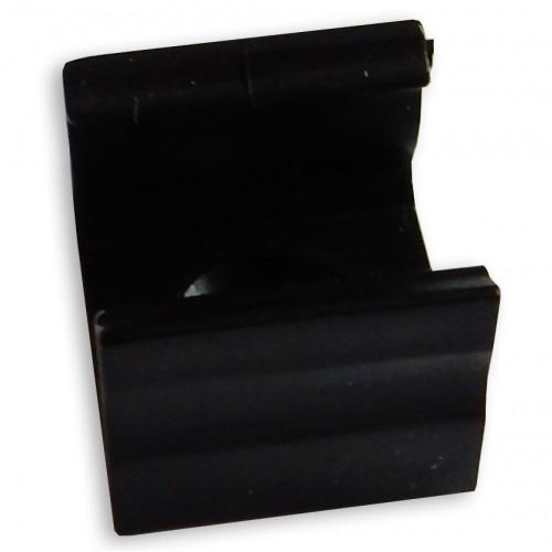 Montážní úchyt plastový pro profil LUMINES X, černý