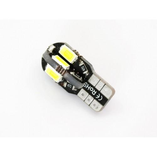 LED auto žárovka LED W5W T10 8 SMD 5630