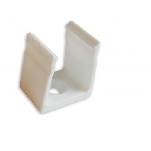 Montážní úchyt plastový pro profil LUMINES Y, bílý