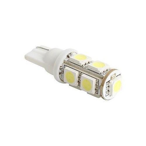 LED auto žárovka T10 9 SMD 5050 W5W