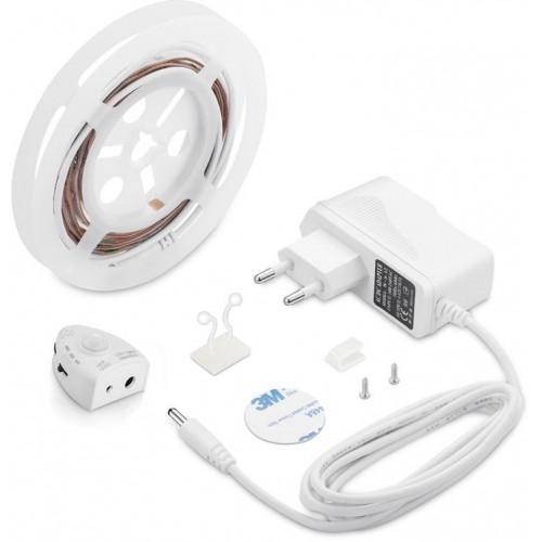 LED nábytkové ( pod postel ) STMÍVATELNÉ osvětlení s pohybovým senzorem 1x1,2m 3W TEPLÁ