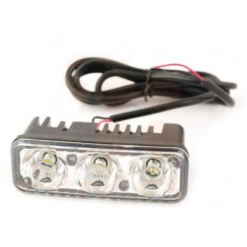 LED svítidlo pracovní podélné 9W 3xSMD voděodolné, otřesuvzdorné