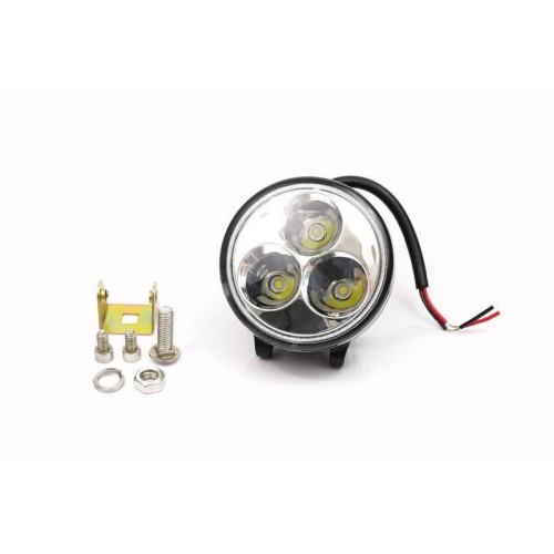 LED svítidlo pracovní kruhové 9W 3xSMD WL5009R voděodolné, otřesuvzdorné