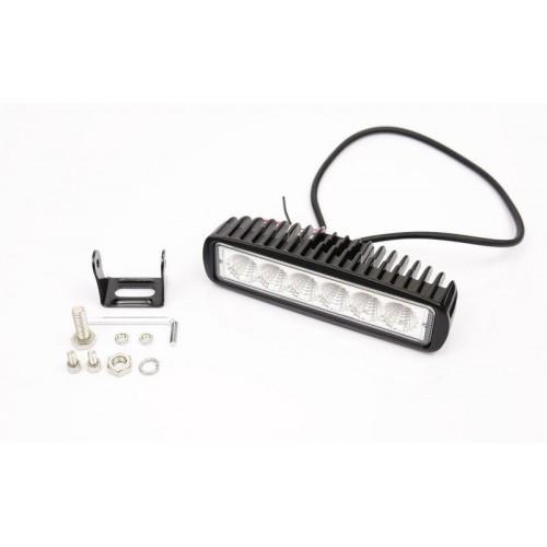 LED svítidlo pracovní podélné 18W 6xSMD WL5018L voděodolné, otřesuvzdorné