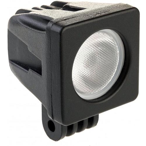 LED svítidlo pracovní čtvercové 10W 1xCREE WL5010 voděodolné, otřesuvzdorné
