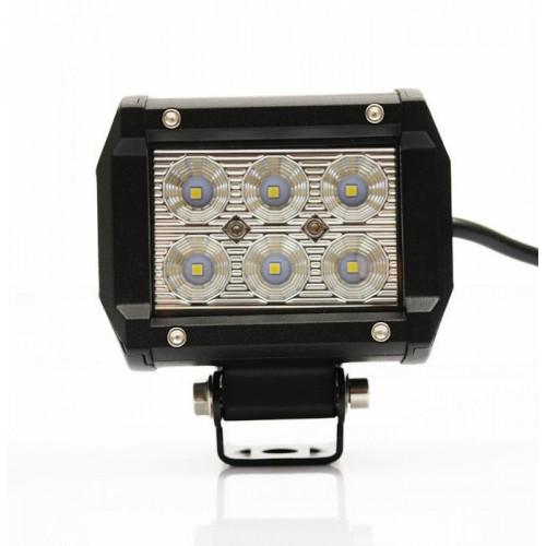 LED svítidlo pracovní podélné 18W 6xSMD WL5918R voděodolné, otřesuvzdorné