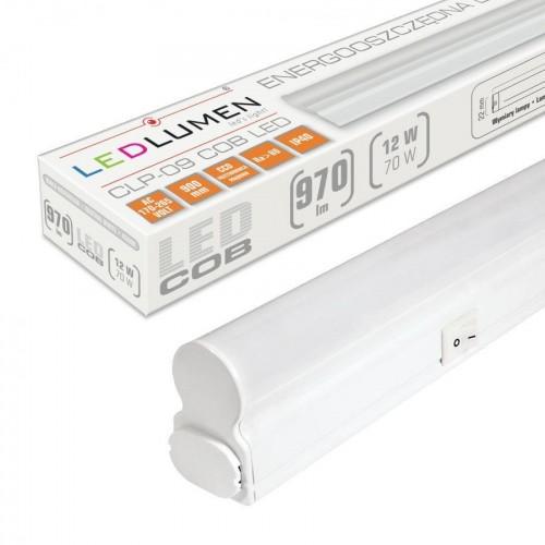 Lineární LED svítidlo CLP-09 90cm 12W batten NEUTRÁLNÍ BÍLÁ