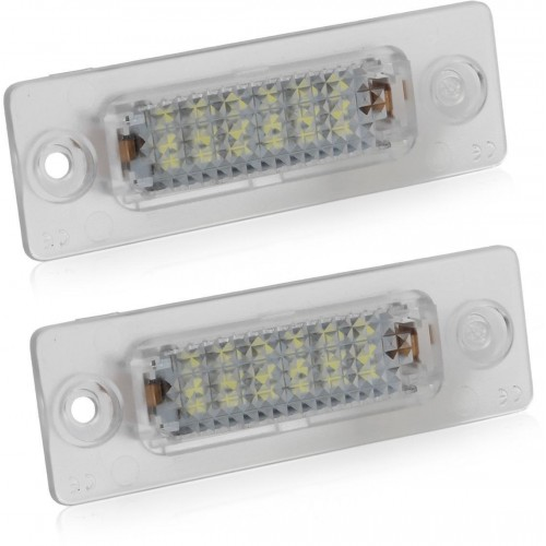LED podsvícení SPZ CAN BUS pro VW Golf, Lupo, New Beetle, Passat 3c/CC, Polo, Phaeton, Scirocco