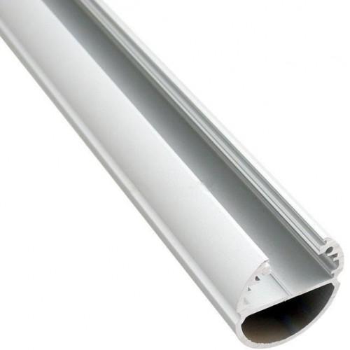 Hliníkový profil Oval 1m pro LED pásky, ALU lišta