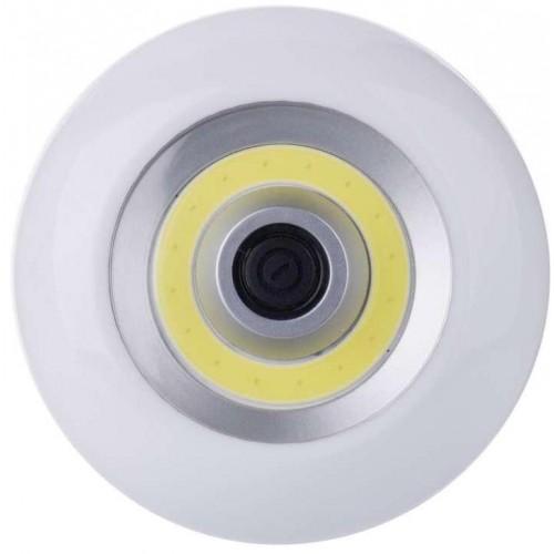 LED svítilna plastová, 3W COB LED, na 3x AAA