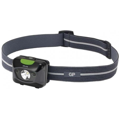 LED nabíjecí čelovka GP Xplor PHR15, 300 lm