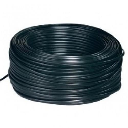Kabel dvoulinka 0,5mm2 pro napojení LED pásků, černá