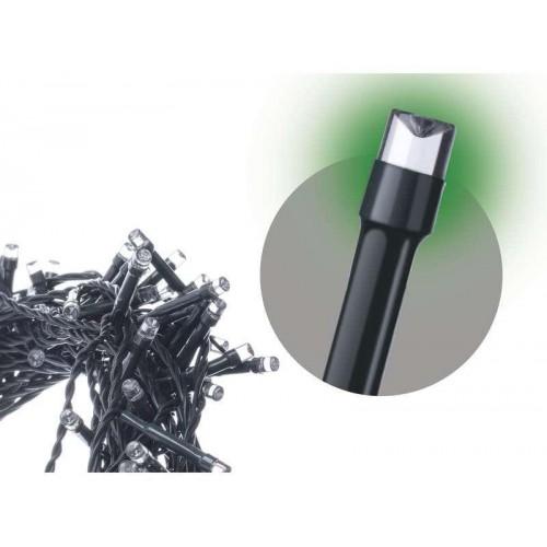 Spojovací LED řetěz, 10m, zelená