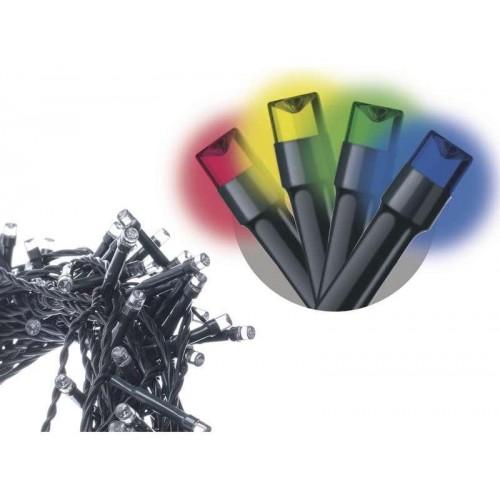 Spojovací LED řetěz, 10m, multicolor