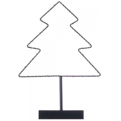 LED stromek stojan, 3×AA, teplá bílá, časovač