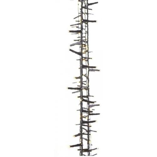 400 LED řetěz – ježek, 8m, teplá bílá, časovač