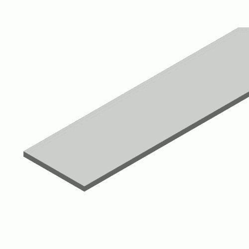 Hliníkový profil LUMINES P 15x2 2m pro LED pásky, hliník