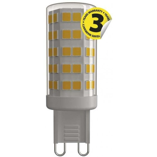 LED žárovka Classic JC A++ 4,5W G9 teplá bílá
