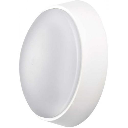 LED přisazené svítidlo, kruh černá/bílá 14W teplá bílá