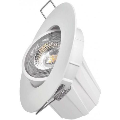 LED bodové svítidlo Exclusive bílé, 8W teplá bílá