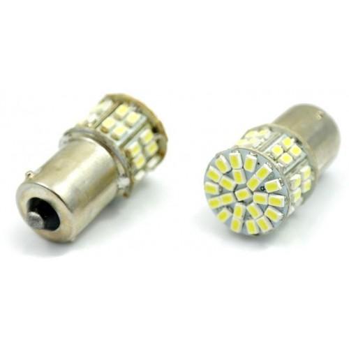 LED auto žárovka 12V BA15S 50SMD1206 5W