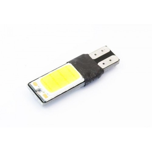 LED auto žárovka LED W5W T10 COB  oboustranná