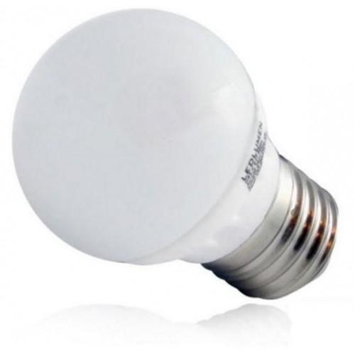 LED žárovka 1W 4xSMD2835 E27 20lm STUDENÁ