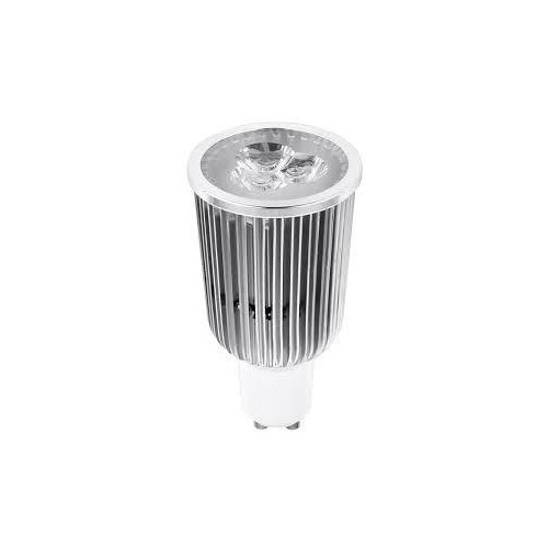 LED žárovka 9W 3x3WPower LED GU10 560lm studená bílá
