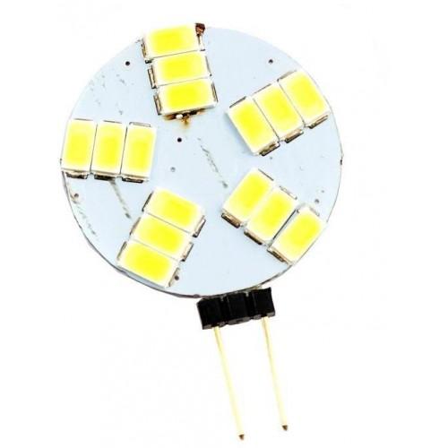 LED žárovka 3W 15xSMD 5630 G4 360lm TEPLÁ