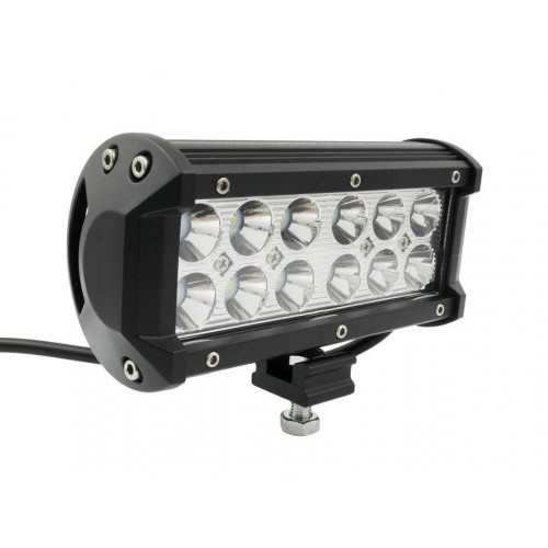 LED svítidlo pracovní obdélníkové 36W 12xCREE WL5936R voděodolné, otřesuvzdorné