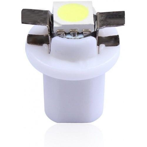 LED auto žárovka LED T5 R5 1 SMD 5050 bílá