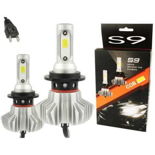 LED auto žárovka H7 S9 COB 30W 6000lm